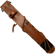 US M6 Leather Sheath - Premium WW2 Repro American Knife Case Carrier Bag Army