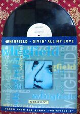 "DISCO 12"" VINILE WHIGFIELD - GIVIN' ALL MY LOVE - MIX REMIX DANCE VG+/VG"