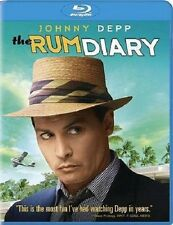 THE RUM DIARY NEW BLU RAY DISC MOVIE FILM JOHNNY DEPP,AARON ECKHART,AMBER HEARD