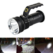 Tactical CREE XM-L 3000LM LED Flashlight Torch Handheld Lamp Rechargeable