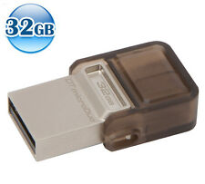 KINGSTON OTG DATA TRAVELER micro DUO 32GB 32G USB Memory Flash Drive For Android