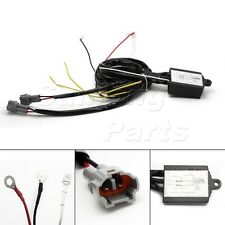 Automatic On/Off Control Switch DRL Daytime Running Light Relay Wiring Harness