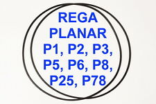 2x CINGHIE REGA PLANAR GIRADISCHI P1 P2 P3 P5 P6 P8 P25 P78 EXTRA STRONG FRESCHE