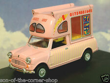 OXFORD DIECAST 1/43 MINI BATMAN ICE CREAM VAN HUSKY'S ICES OF SKEGNESS MP011