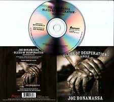 JOE BONAMASSA Blues Of Desperation 2016 Dutch 1-track promo CD