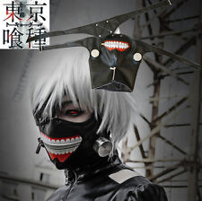 Cosplay Tokyo Ghoul Kaneki Ken Adjustable Zipper Halloween Party Prop Mask