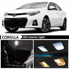 2015 & up Toyota Corolla White Interior LED Light Package Kit + TOOL
