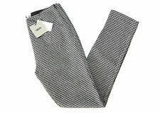 ASOS HIGH-WAISTED HOUDSTOOTH CHECK SKINNY TROUSERS/TREGGINGS *UK 6* BNWT RRP £40