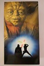 Star Wars Trilogy Box Set -CLASSIC RARE VHS PAL  'AS NEW' Mint Condition