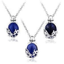 COOL The Vampire Diaries Katherine Anti-sunlight Lapis Lazuli Pendant Necklace