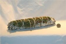 CALIFORNIA WHITE SAGE & CEDAR Smudging Sage for Burning 8 to 9 Inch Blend