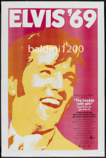 ELVIS PRESLEY - THE TROUBLE WITH GIRLS - HIGH QUALITY VINTAGE MOVIE/MUSIC POSTER