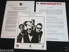 U2 'In Concert: Zooropa From Sydney' 1993 Press Kit-Photo