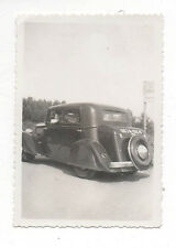 PHOTO - Vintage Snapshot - Femme Voiture Automobile Auto - Vers 1930