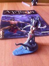 MYTHOS nr 3 MEDUSA fascicolo e statuetta di metallo De AGOSTINI OTTIMO