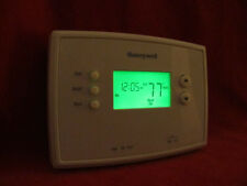 Honeywell RTH 2300 B Digital 5-2 Day Programmable Thermostat  Green display.