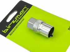 """Birzman MF Freewheel Remover for SHIMANO Silver Compatible with 1/2"""" Driver"""