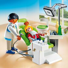 PLAYMOBIL® 6662 Dentist with Patient - NEW 2015 - S&H FREE WORLDWIDE