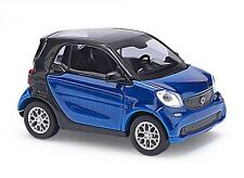 BUSCH 50700 Smart Fortwo Coupé C453, CMD, Blau H0 #NEU OVP#