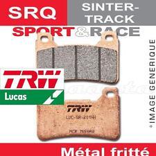 Plaquettes de frein Avant TRW Lucas MCB 540 SRQ pour Husqvarna SMR 630 06-