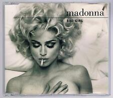 MADONNA BAD GIRL 4 TRACKS CD