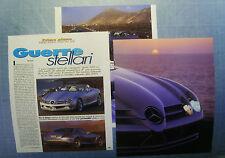AUTO2000-RITAGLIO/CLIPPING/NEWS-2000- MERCEDES VISION SLR
