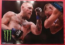 Conor McGregor UFC Poster - MONSTER ENERGY Promo (22 x 15.5) NEW!!