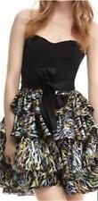 DVF Diane Von Furstenberg ALKIN Belted Tiered Dress Brush Marks 10 US $575