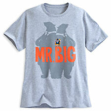Disney Store Authentic Zootopia Mr. Big Mens T Shirt Tee Size Small NWT