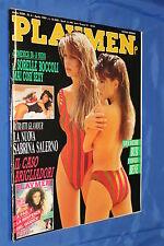 rivista erotica - PLAYMEN - Anno 1989 Numero 4 SORELLE BOCCOLI