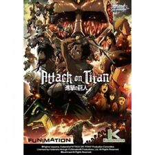Weiss Schwarz TCG Attack On Titan Trial Deck Brand New