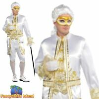 CASANOVA MASKED BALL VENETIAN THEATRICAL - one size - mens fancy dress costume