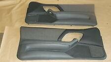 98-99 Camaro Z28 RS SS Door Panels Med Gray Cloth LH RH Pair 0916-10