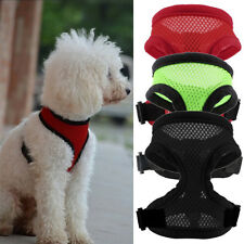 Soft Pet Mesh Dog Cat Harness Strap Vest Collar For Small/Medium Dog Cat