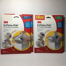 3M Inflatable Mailers Sizes M L Lot 4 Inflata-Pak Air Cushion Packaging