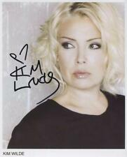 Kim Wilde Signed 8 x 10 Photo Genuine Obtained In Person