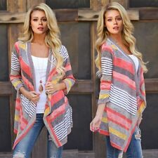 Hot Women Long Sleeve Knitted Cardigan Loose Sweater Outwear Jacket Coat Sweater