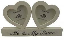 Me & My Sister Photo Frame - Free standing - Modern - Home accessory - Bedroom