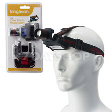 3W Cree LED Headlamp High Power Zoom Headlight Headband Torch Fishing Camping