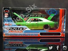 Maisto ProRodz 1:24 1969 Dodge Charger R/T Green American Muscle New boxed