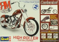Revell 1:12 High Roller Custom Chopper Motorcycle Plastic Model Kit #7323