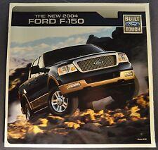 2004 Ford F-150 Pickup Truck Brochure XL STX XLT FX4 4x4 Lariat Excellent Orig