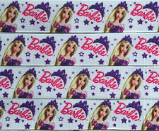 "Barbie Printed Grosgrain Ribbon 22mm 7/8"" purchase by the metre"