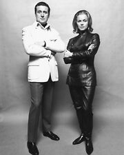 THE AVENGERS PATRICK MACNEE HONOR BLACKMAN 8X10 PHOTO