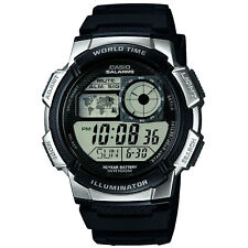 Mens Casio digital World Time watch AE-1000W-1A2VEF