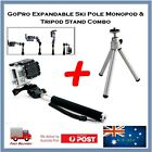 GoPro Hero 4 / 3+/ 3 Ski Pole Monopod Handle & Mini Tripod Stand Bundle Go Pro