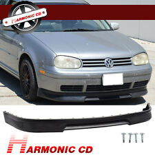 FIT FOR 99-04 VW GOLF MK4 P3 STYLE FRONT BUMPER LIP PU