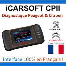 Valise Diagnostique PEUGEOT et CITROEN - iCARSOFT CPII PSA LEXIA DIAGBOX PP2000
