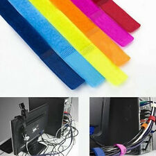 10pcs Creative Cable Ties Strap Power Wire Management Marker Straps Fine TRO