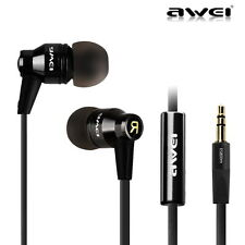 Awei ES800m Super Bass Headphone Earphone Headset Earbud For iPhone Samsung PC